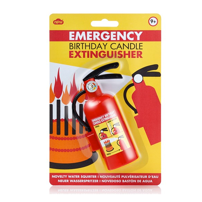 Gag Gifts - Emergency Birthday Candle Extinguisher