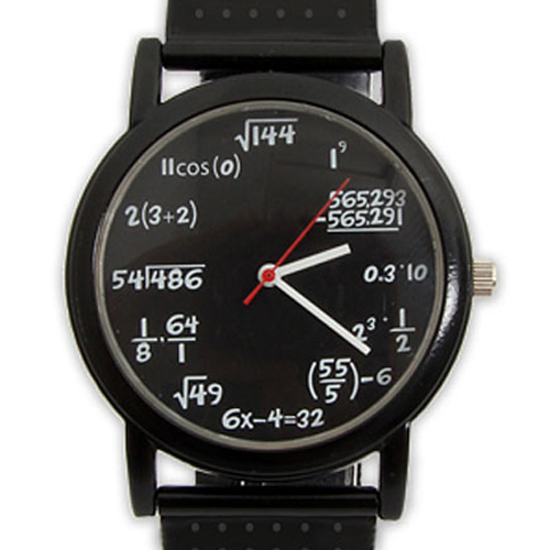 Gag Gifts - Equation Watch