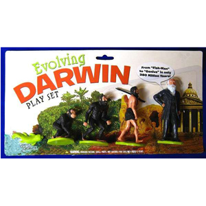 Gag Gifts - Evolving Darwin Play Set