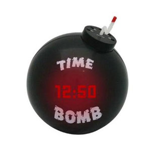 Gag Gifts - Exploding Time Bomb Clock