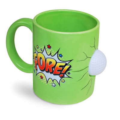 Gag Gifts - FORE! Golf Mug