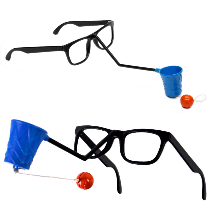 Gag Gifts - Face Basketball Glasses