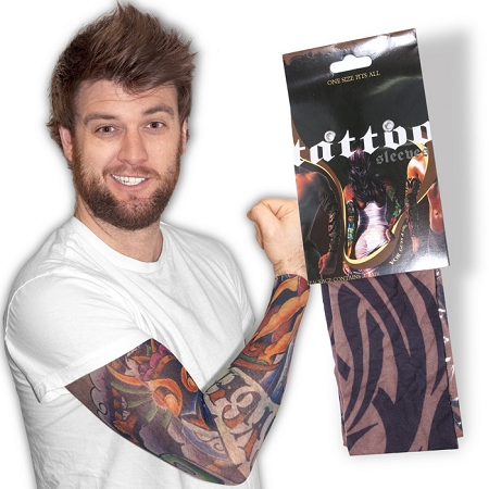 Gag Gifts - Fake Tattoo Sleeves