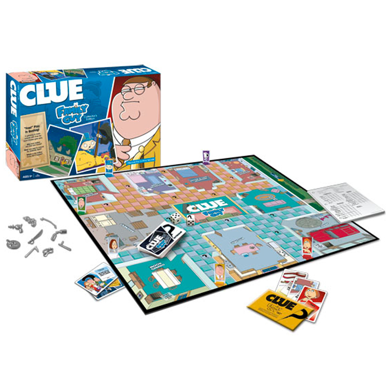 Gag Gifts - Family Guy Clue