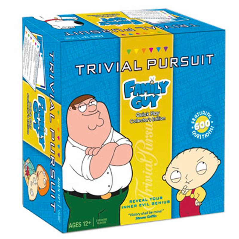 Gag Gifts - Family Guy Trivial Pursuit
