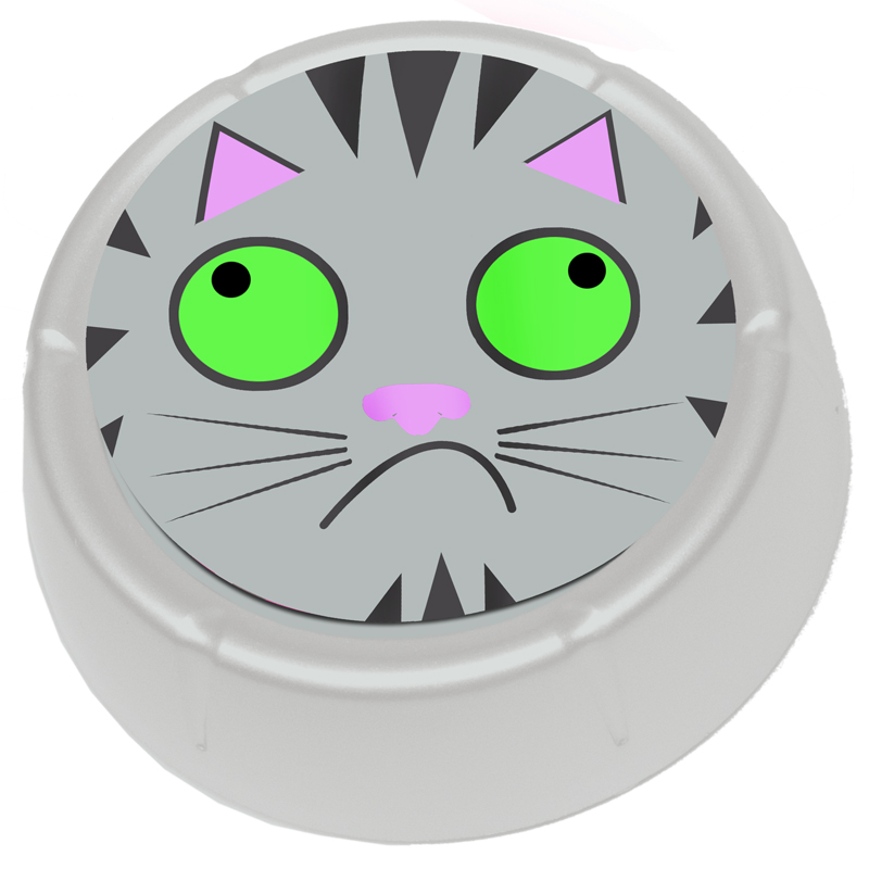 Gag Gifts - Farting Cat Button