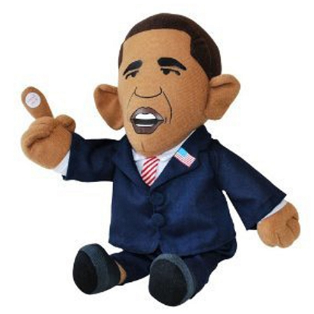 Gag Gifts - Farting Obama Doll