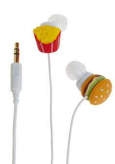 Gag Gifts - Fast Food Earbuds