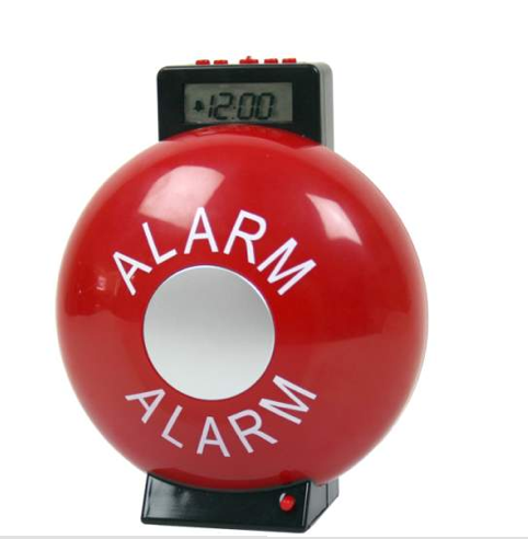 Gag Gifts - Fire Bell Alarm Clock