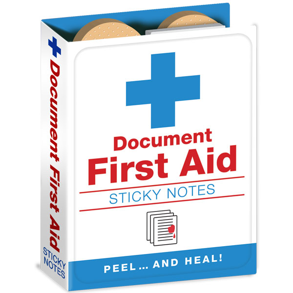 Gag Gifts - First Aid Sticky Notes
