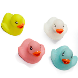 Gag Gifts - Flashing Rubber Ducks- Set of 4 Set of 4 Ducks