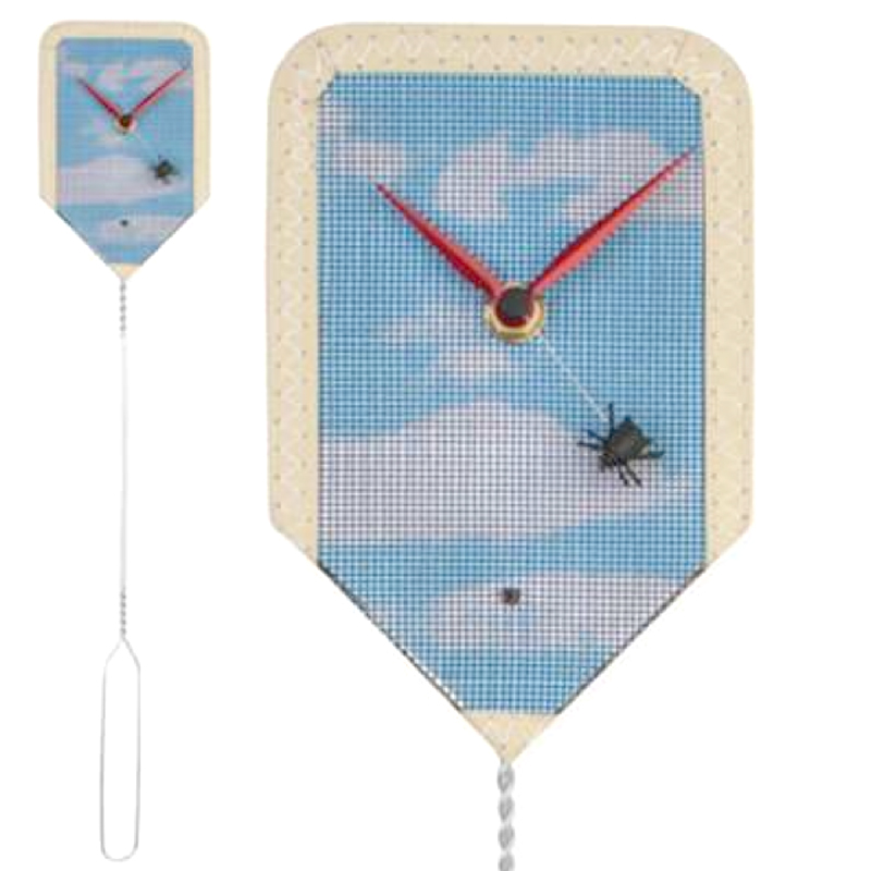 Gag Gifts - Fly Swatter Wall Clock