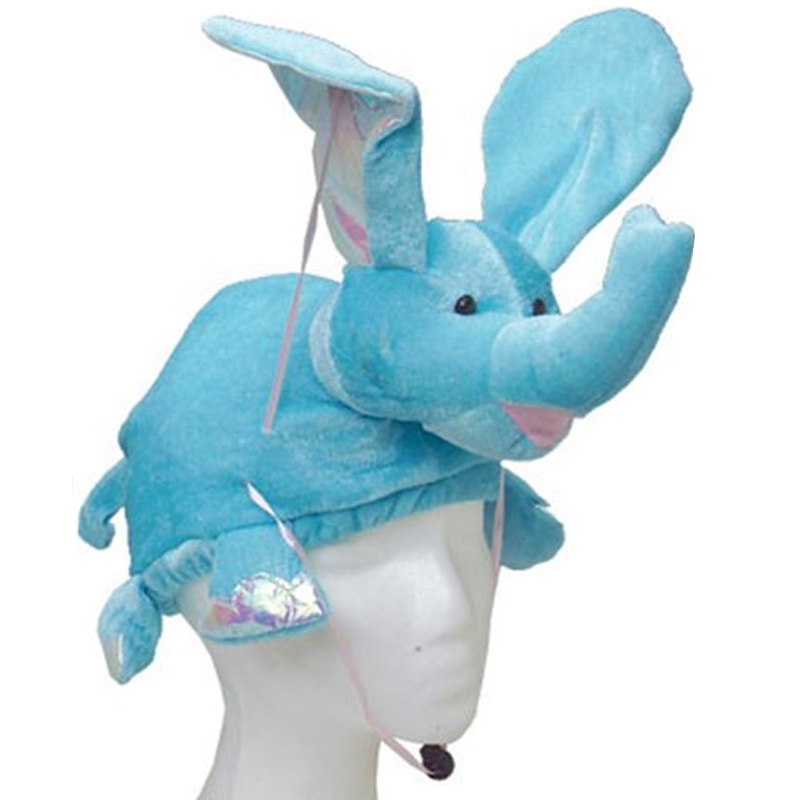 Gag Gifts - Flying Blue Elephant Hat