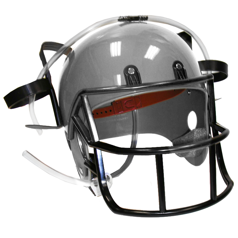 Gag Gifts - Football Drinking Helmet: Silver