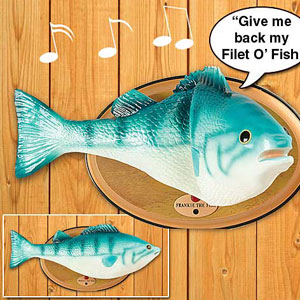 Gag Gifts - Frankie the Fish