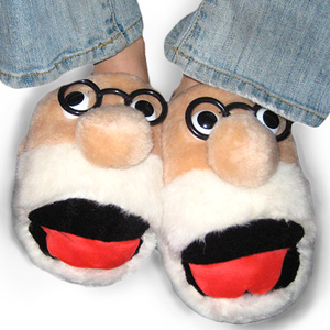 Gag Gifts - Freudian Slippers