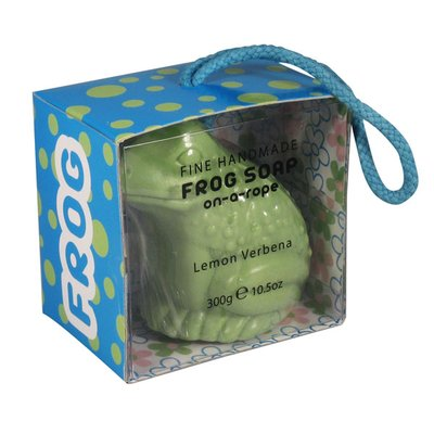 Gag Gifts - Frog Soap On a Rope