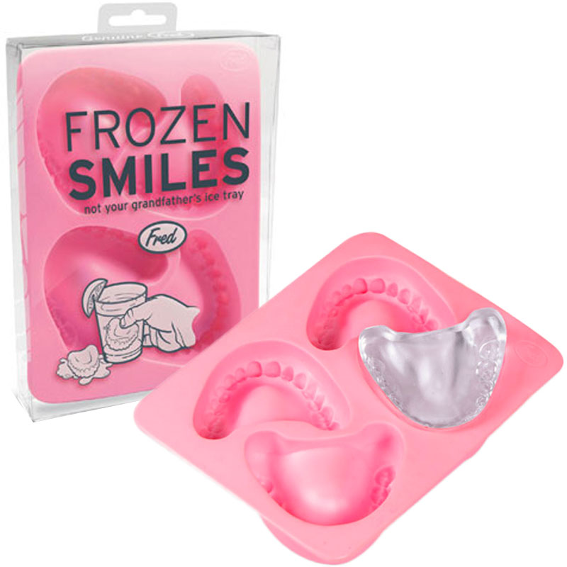 Gag Gifts - Frozen Smiles Denture Ice Tray