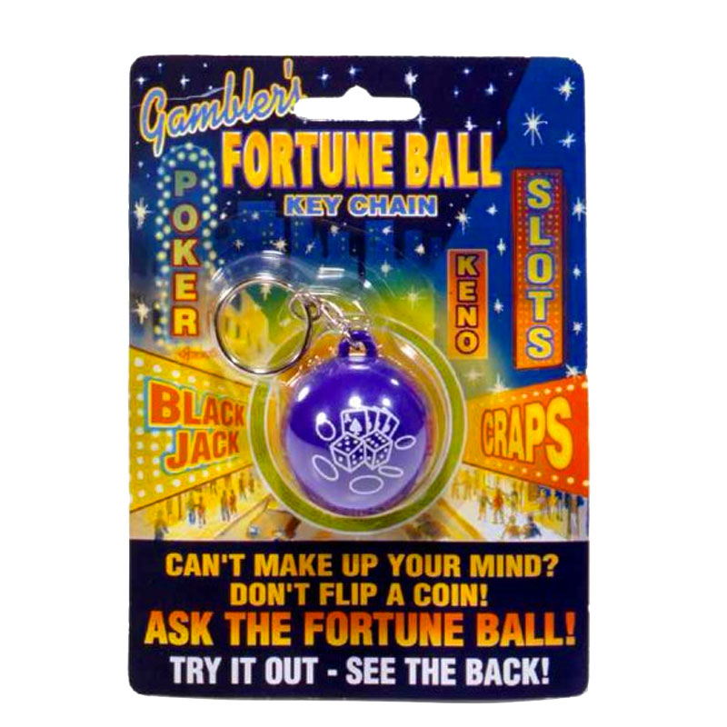 Gag Gifts - Gambler's Fortune Ball Keychain