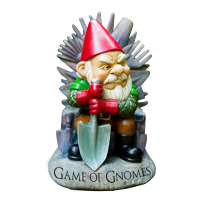 Gag Gifts - Game of Gnomes Garden Gnome