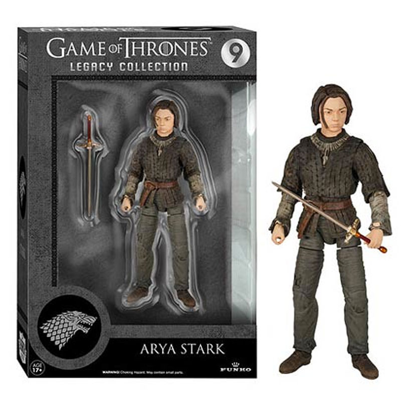 Gag Gifts - Game of Thrones, Action Figure: Arya Stark