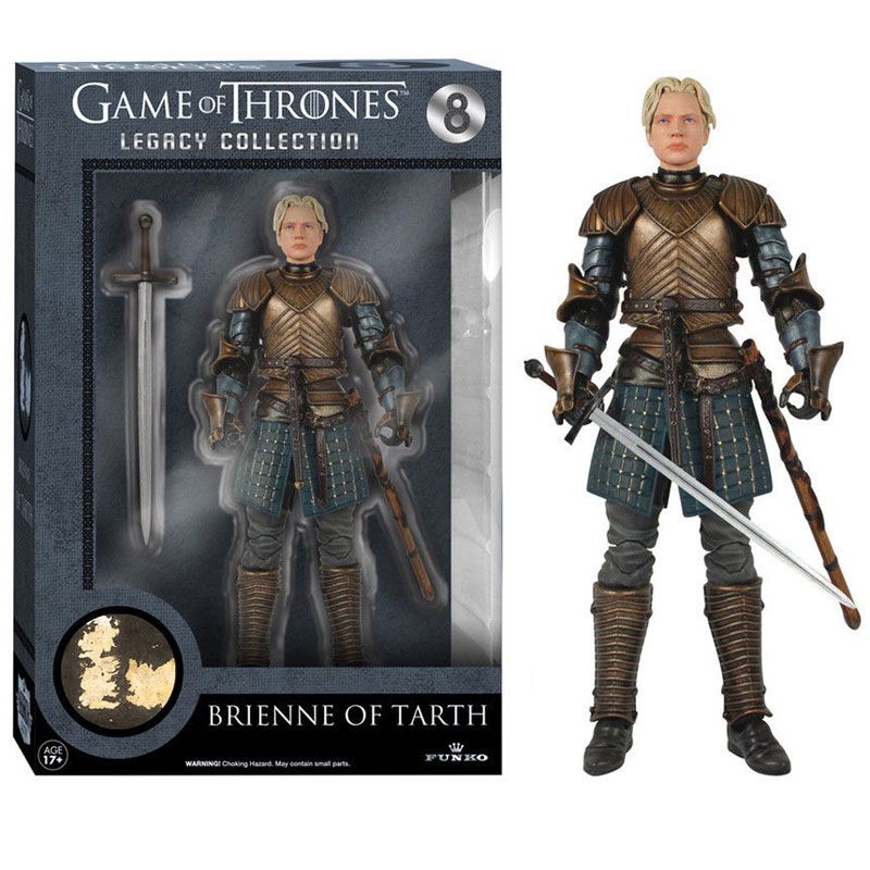 Gag Gifts - Game of Thrones, Action Figure: Brienne of Tarth