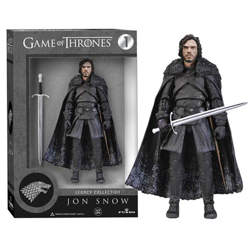 Gag Gifts - Game of Thrones, Action Figure: Jon Snow