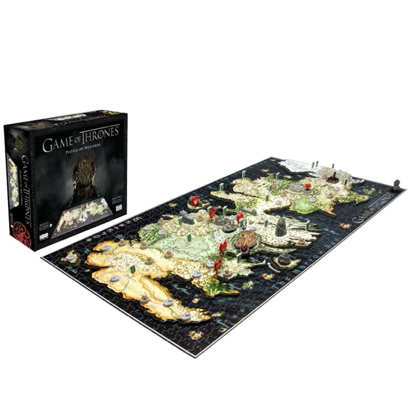 Gag Gifts - Game of Thrones 4D Puzzle