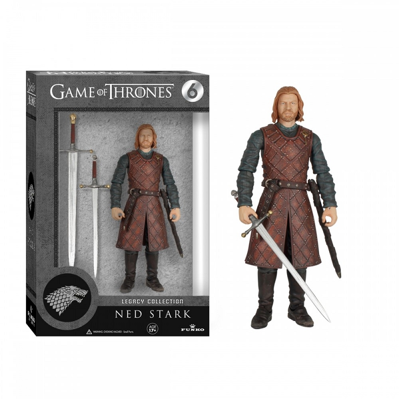 Gag Gifts - Game of Thrones Action Figure: Ned Stark