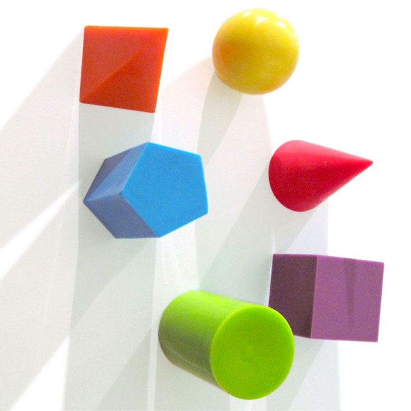 Gag Gifts - Geometric Shapes Magnet Set