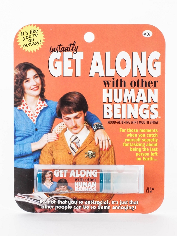 Gag Gifts - Get Along With Other Humans Breath Spray