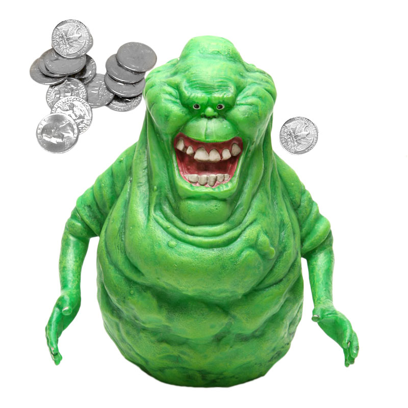Gag Gifts - Ghostbusters: Slimer Piggy Bank