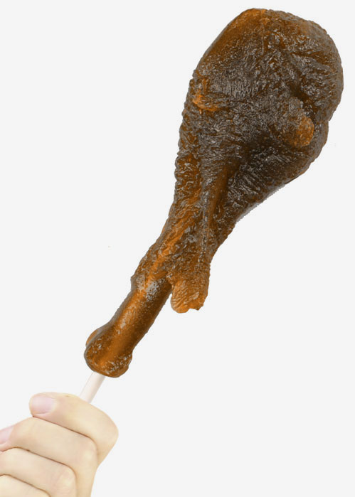 Gag Gifts - Giant Gummy Turkey Leg