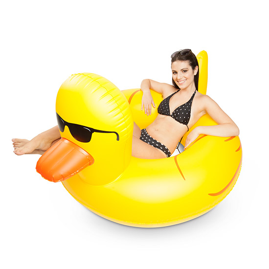 Gag Gifts - Giant Rubber Duckie Pool Float