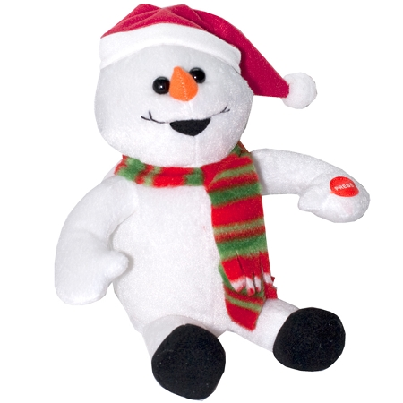 Gag Gifts - Giggling and Farting Snowman
