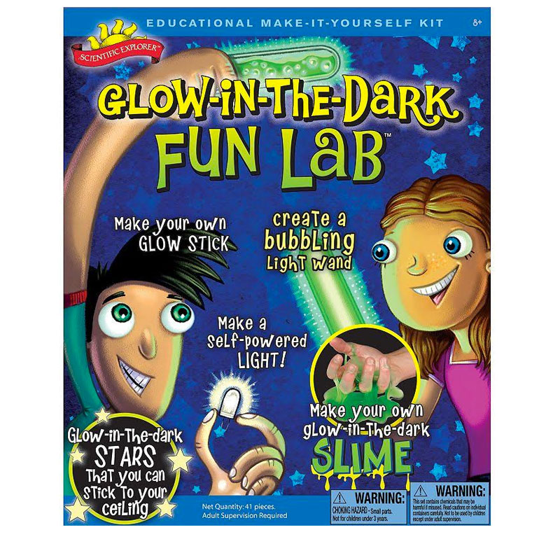 Gag Gifts - Glow Lab: Glow in the Dark Lab