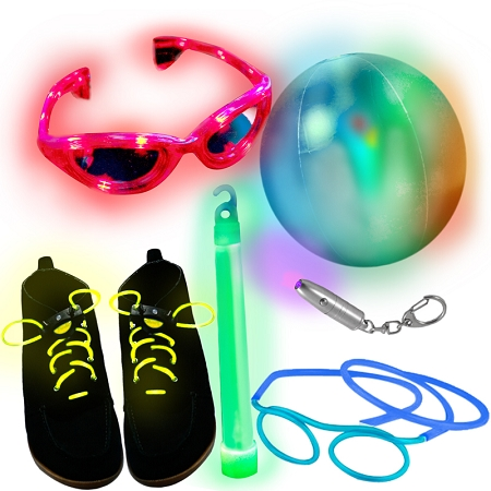 Gag Gifts - Glow in the Dark Gift Pack