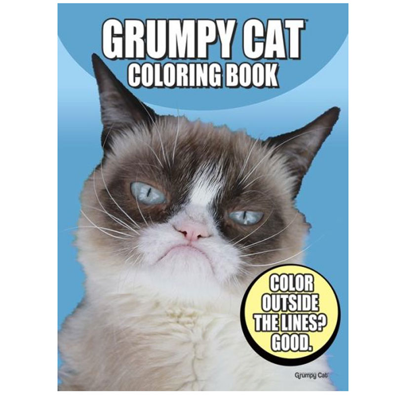 Gag Gifts - Grumpy Cat Coloring Book