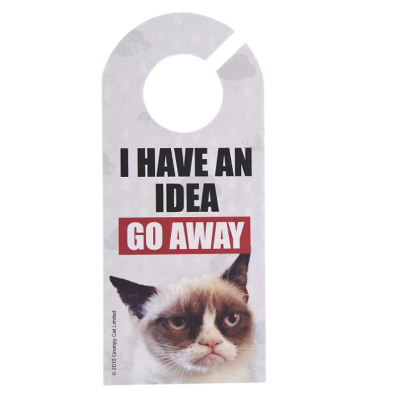 Gag Gifts - Grumpy Cat Door Hanger