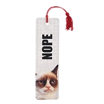 Grumpy Cat Nope Bookmark