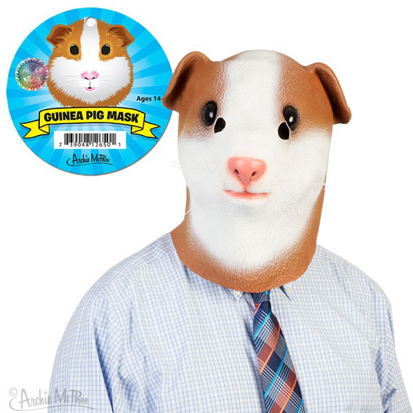 Gag Gifts - Guinea Pig Mask