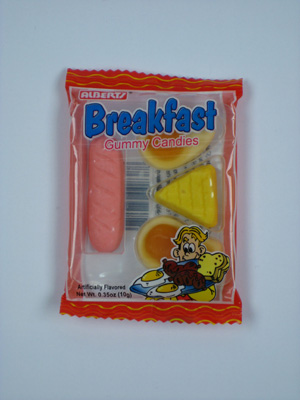 Gag Gifts - Gummi Deli Breakfast  (3 Pack)