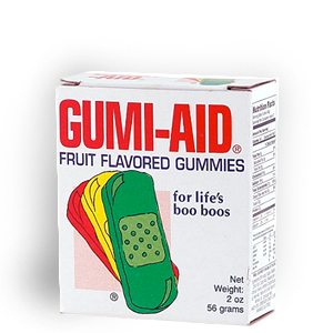 Gag Gifts - Gummy Band-Aids
