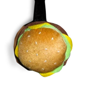 Gag Gifts - Hamburger Ear Muffs