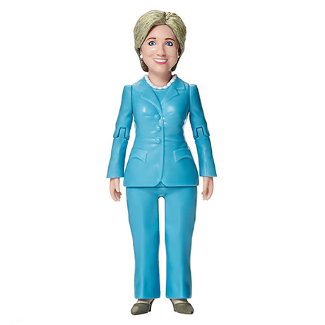 Gag Gifts - Hillary Clinton Action Figure
