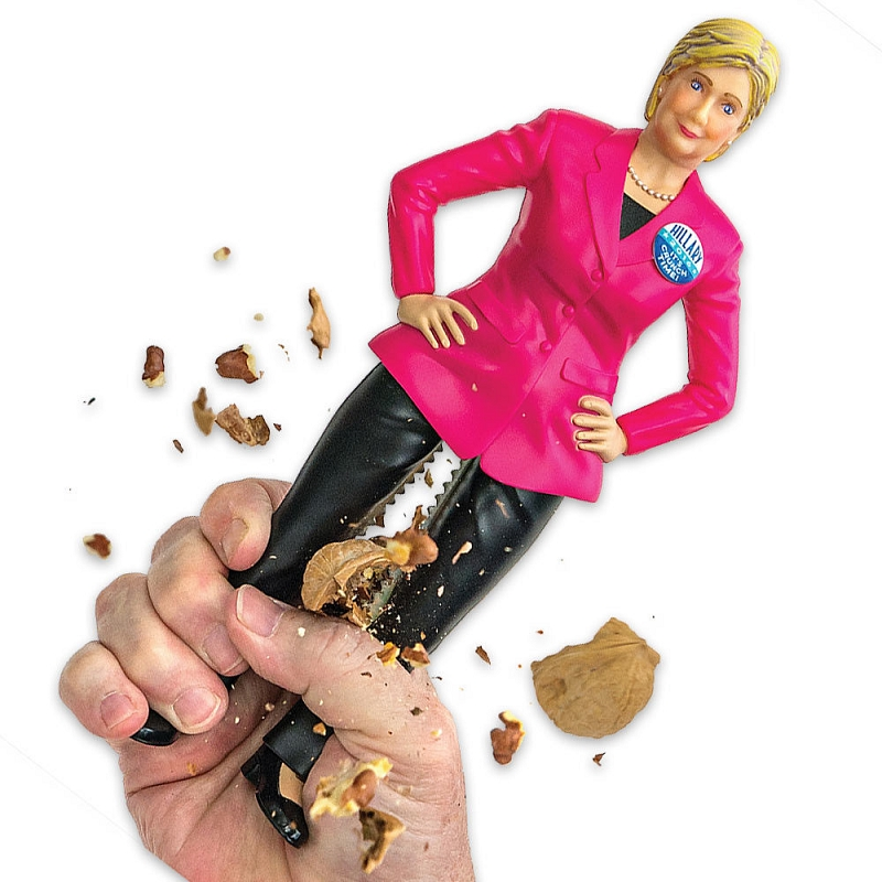 Gag Gifts - Hillary Clinton Nutcracker