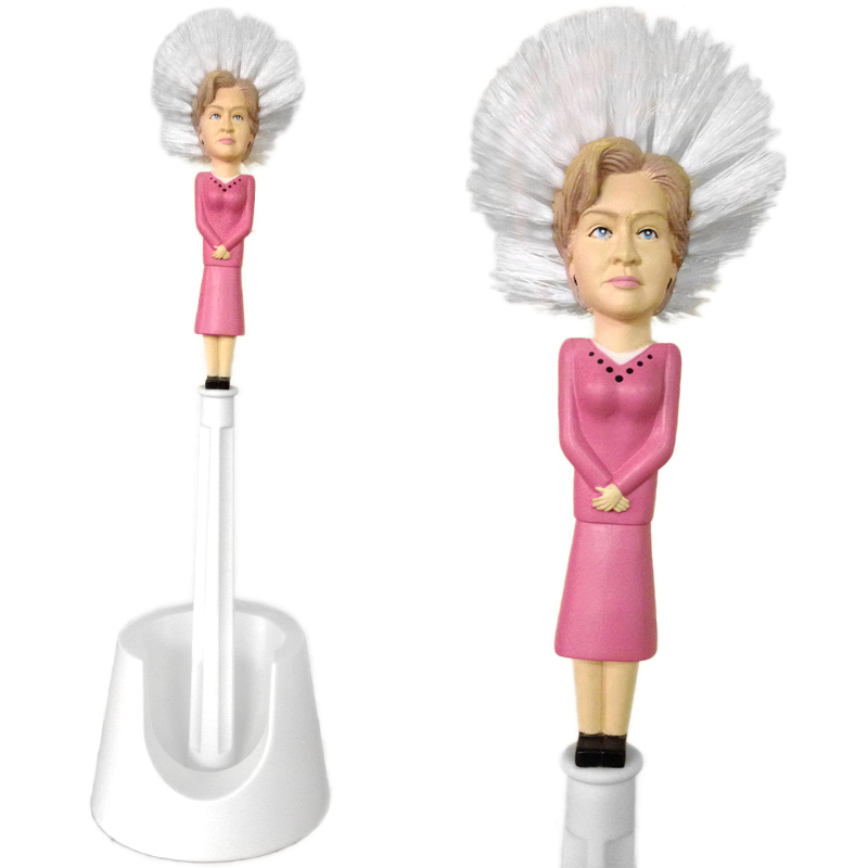 Gag Gifts - Hillary Clinton Toilet Brush