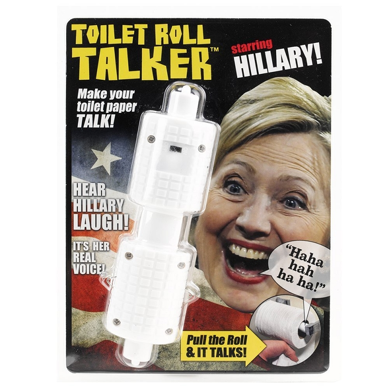 Gag Gifts - Hillary Toilet Talker