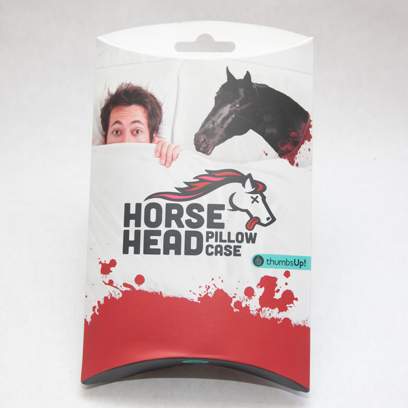Gag Gifts - Horse Head Pillow Case