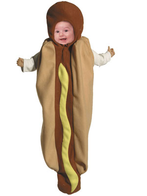 Gag Gifts - Hot Dog Baby Costume